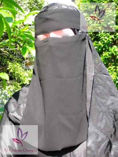 Long string niqab