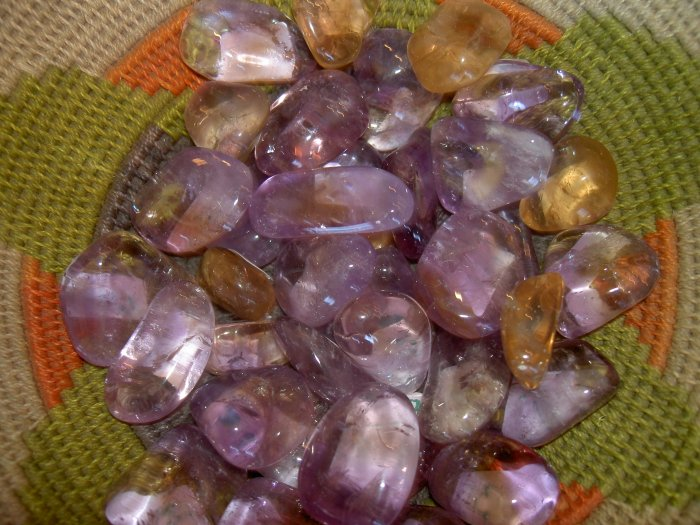 Ametrine - a balancing and cleanising stone