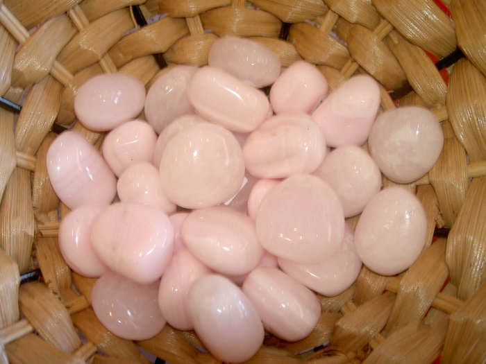 Pink Manganocalcite - Reiki stone. heart, uterus, bones, joints and kidneys