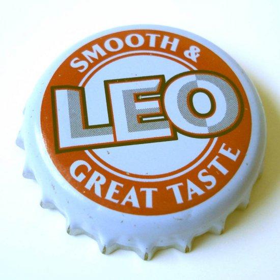 LEO BEER USED BOTTLE CAP