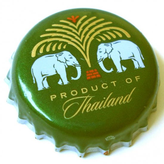 Chang Beer bottle cap RARE Collectible