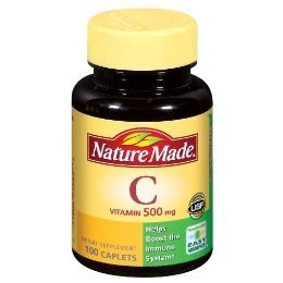 Nature Made Supplement - Vitamin C, 500 mg- 100 Tabs