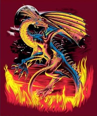 queen dragon blanket