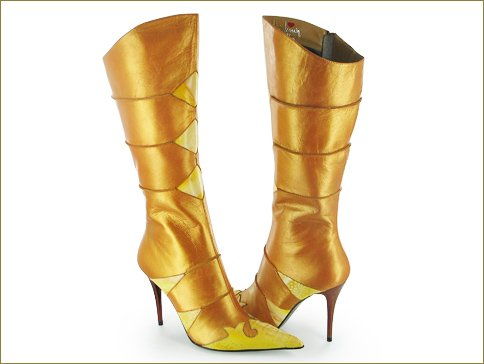 The Havana Gold Knee High Boot