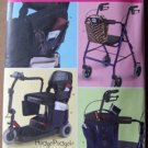 Simplicity pattern 2382 scooter, wheelchair and walker bags