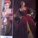Simplicity 2589 Elizabethan or Tudor gown and headdress pattern size 8-16