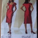 Vogue Bellville Sassoon designer pattern V2943 or 2943 cocktail dress sizes 4-8
