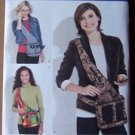 Simplicity 2275 pattern for bags: messenger bag or side fitting purse