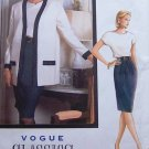 Vogue Classics vintage 1990 pattern 7692 size 8-12 Jacket, top and skirt .