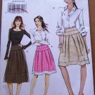 Vogue skirt pattern v8560 or 8560 size 6-12, flared, fitted yoke