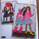 Simplicity 2522 Harajuku girls&#39; costumes pattern size 7-14