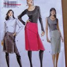 Vogue V8518 or 8518 Asymmetrical skirts pattern, sizes 6-12