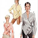 Vogue 7828 or v7828  pattern for blouses sizes 6-10 side tie with tucks