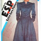 Vintage 1983 Simplicity E.S.P. Cut pattern 6073 Country jacket and skirt size 8-12 .