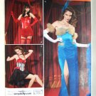 Simplicity costume 2535 pattern for saloon, burlesque, vaudeville costumes size 8-14
