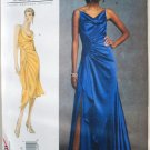 Vogue v1031 Bellville Sassoon evening gown or cocktail dress pattern sizes 6-10