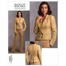 Vogue v1040 Badgley Mischka pattern for jacket and pants size 6-12 .