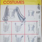 McCall&#39;s 4107 pattern for Renaissance corsets vests tops