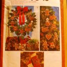 Simplicity 9648 pattern for gingerbread Christmas ornaments