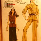 Vogue 8502 pattern for safari or military type outfits size 8-16