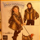 Simplicity 2530 Daisy Kingdom girls' furry cape pattern size 3-8