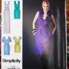 Simplicity 2497 pattern Cynthia Rowley dresses size 4-12