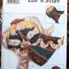 Butterick 3667 Luv 'n Stuff angel craft pattern wall hanging and ornaments