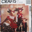 McCall's Crafts 4532 pattern Christmas Guests reindeer pattern by Faye Wine, incomplete