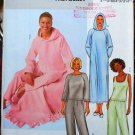 Butterick Fast & Easy 4038 pajamas sleepwear nightgown pattern L-XL