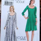 Very Easy Vogue 8592 v8592 dress pattern with raglan sleeves  sizes 8-16