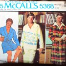 McCall's 5368  Mens robes ultimate 1970s lounge wear pattern