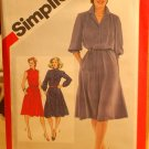 Lot of 5 Simplicity patterns from the early 1980s sizes 16-20, lot for theatrical recreation
