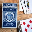 Vintage Eagle 940 playing cards, some stained tax stamp date 1940-1965
