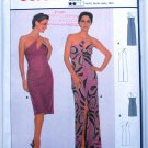 Burda international 8634 pattern for strappy gown or dress size 8-18