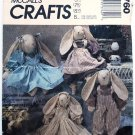 McCall's 3760 pattern by Faye Wine called Country Rabbits, includes some cut fabric