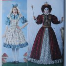 Simplicity 2325 Alice in Wonderland / Red Queen pattern size 6-12