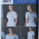Simplicity 7215 pattern The Fashion Historian Martha McCain corsets chemise size 6-12