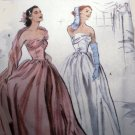 Butterick B4918 4918 pattern for size 14-20 Retro 1952 ballgown
