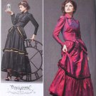 Simplicity 2207 pattern Arkivestry Steampunk costume dress pattern size 6-12