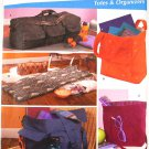 Simplicity 4535 pattern Simply Teen totes, bags, yoga mat or floor mat, and organizers Andrea Schewe