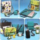 Simplicity 4391 craft pattern ipod case, laptop sleeve, phone holders, belt bags by Elaine Heigl