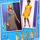 Simplicity 2885 Project Runway pattern for shirt dresses size 14-22