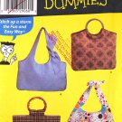 Simplicity 4670 Sewing Patterns for Dummies bags, purses, handbags