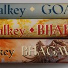 Blood of the Goddess trilogy Kara Dalkey, Goa, Bijapur, Bhagavati, first edition set hardcovers