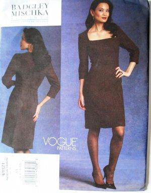 Vogue1121 v1121 Badgley Mischka Platinum dress pattern size 6-12