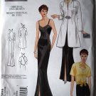 Vogue v2859  2859 Vintage 1935 Old Hollywood evening gown ensemble size 12-16