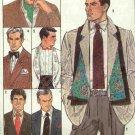 Simplicity 8785 men's tuxedo cummerbund, ties, bowtie, ascot, scarf, evening opera bridal