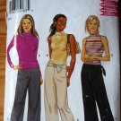 New Look 6109 stretch pants and mock turtle neck top, Boho size 6-16