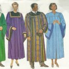 Butterick 5626 or B5626 pattern for choir, academic, or clergy gowns or robes unisex all sizes