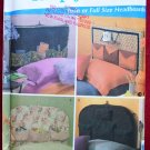 Simplicity 4527 Simply Teen pattern for twin or full size bed headboards Andrea Schewe